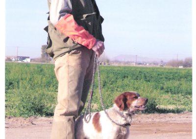 CH TopperLyn D'Artagnan w_Chris Liberated Bird Trial, Phoenix AZ CEB-US Nat'ls